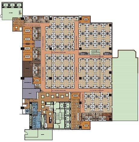 IBC Knowledge Park II Bannerghatta Road floor plan